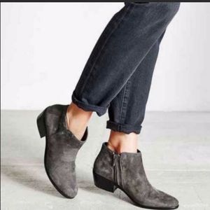 sam edelman petty boot gray charcoal suede